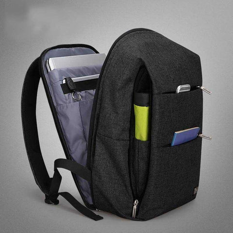 15.6 inches Laptop Backpack Large Capacity Casual Style Bag Evofine