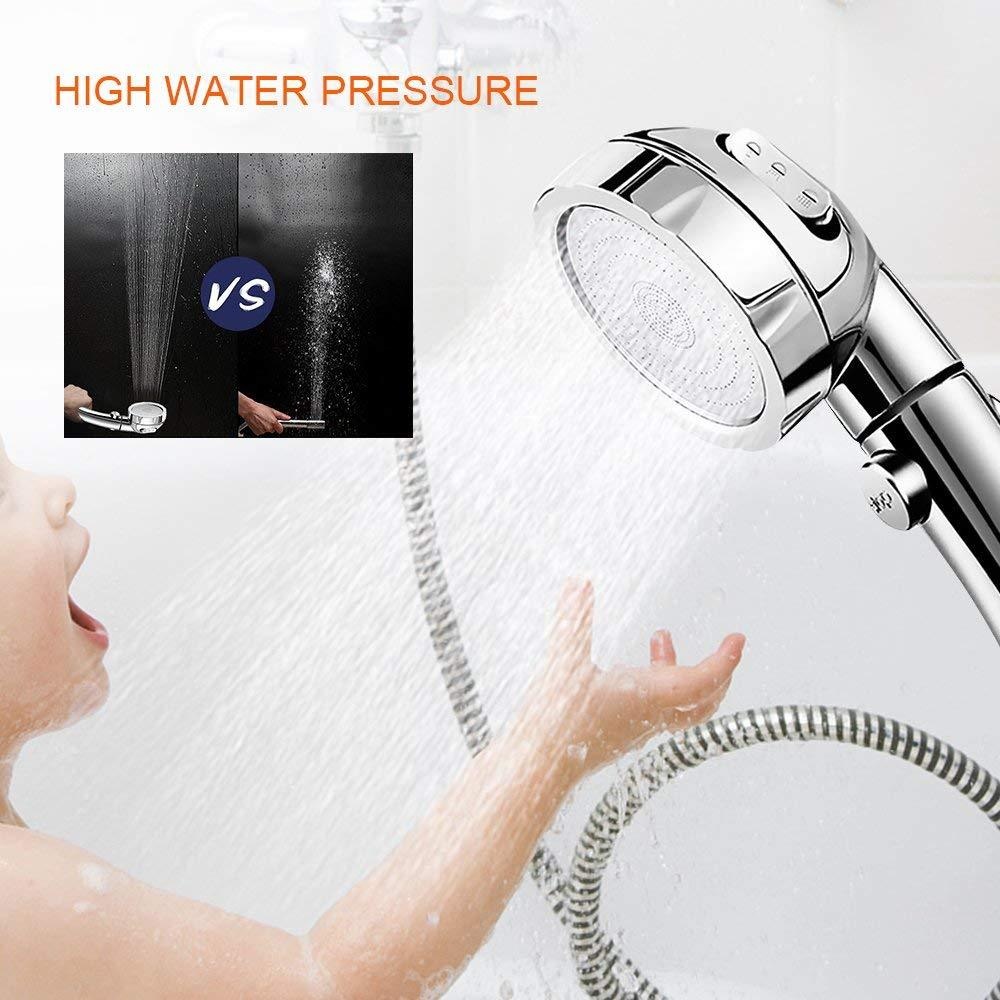 3 In 1 High-Pressure Shower Head shower head EvoFine