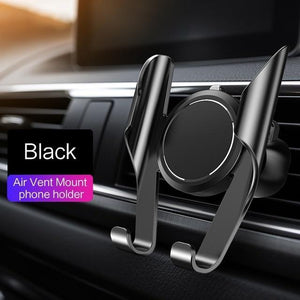 360 Rotation Car Phone Holder Evofine Black