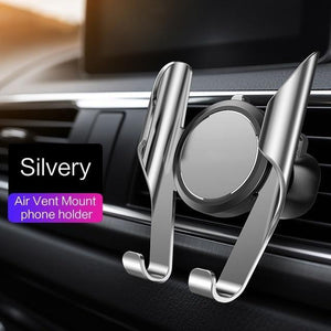 360 Rotation Car Phone Holder Evofine Silver