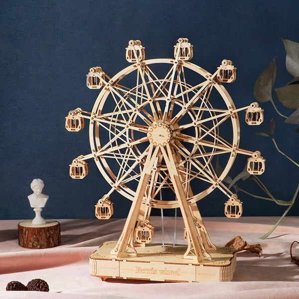 3D Grand Ferris Wheel Puzzles for Adults, Building Crafts Toy Gift for Adult and Teens 232 PCS