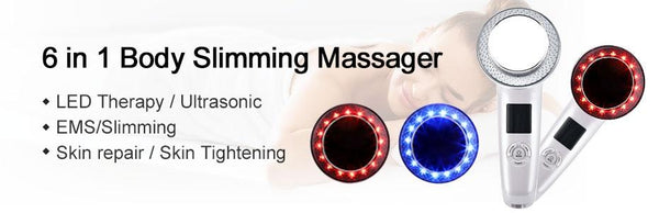 6 in 1 Slimming Cellulite Removal Massager for Face and Body