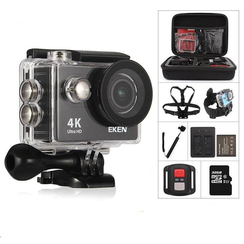 Action Camera, 4K Ultra HD WiFi Waterproof Action Camera action Camera EvoFine
