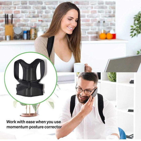 Adjustable Posture Corrector for Men and Women, Spine and Back Support