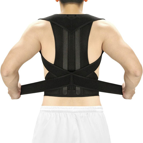 Adjustable Posture Corrector for Men and Women, Spine and Back Support Posture Corrector EvoFine