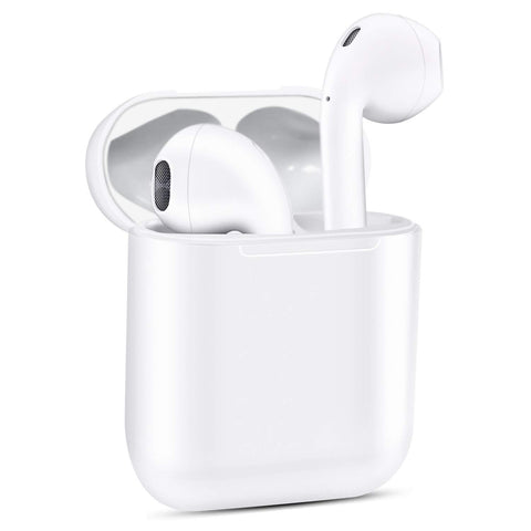 Auto Pairing Fast Charging Bluetooth Earbuds 3D Super Bass Earphone Headset 5.0 V Earphone EvoFine