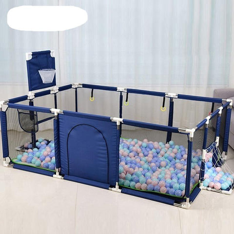 Baby playpen, Playpens for Babies, Kids Safety Play Center Yard Portable Playard Play Pen Baba Accessories EvoFine