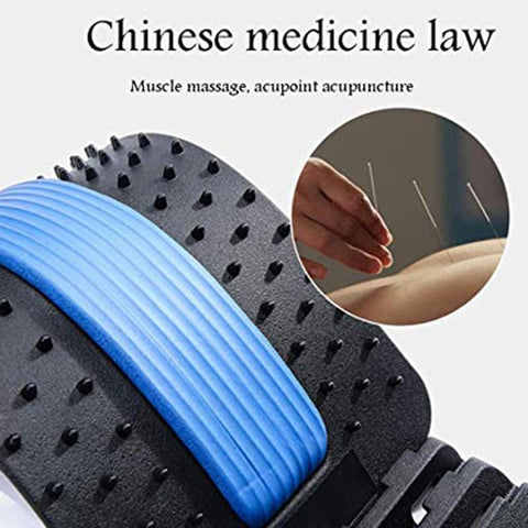 Back Pain Relief - Acupressure Back Stretcher and Massage Ball Set AB Roller EvoFine