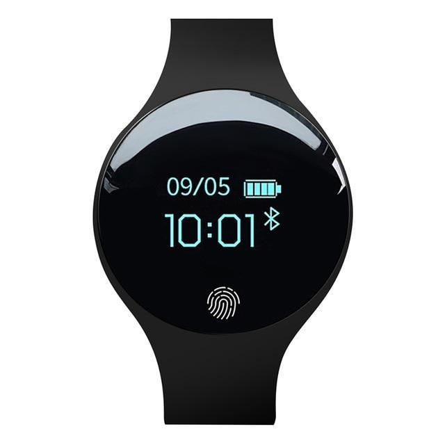 Bluetooth Smart Watch for IOS Android Evofine Black