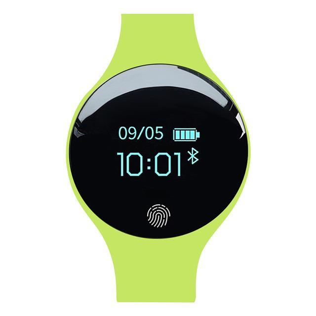 Bluetooth Smart Watch for IOS Android Evofine Green