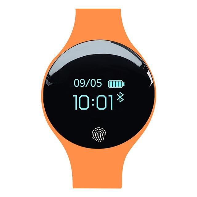 Bluetooth Smart Watch for IOS Android Evofine Orange