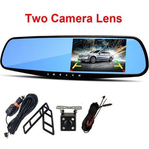 Car DVR Camera Recorder 1080P Evofine Dual Camera Lens No TF Card