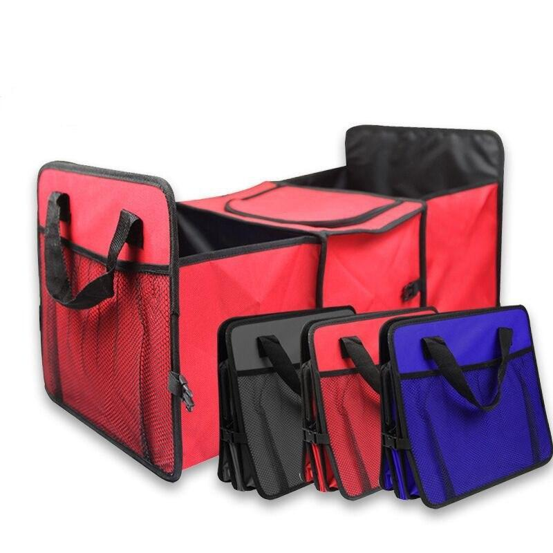 Car Trunk Organizer - Collapsible Toys, Food Storage evofine