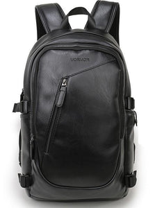 Casual leather laptop backpack EvoFine Default Title