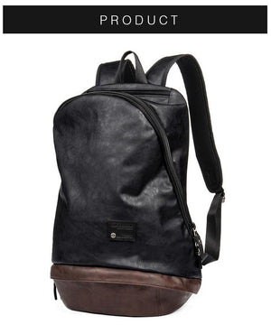 Classic Fashion leather Backpack Travel laptop Friendly EvoFine