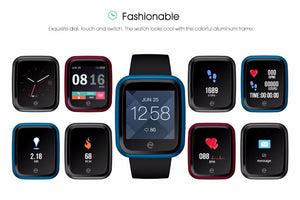 Crystal Smart Fitness Waterproof Smartwatch For Android IOS EvoFine