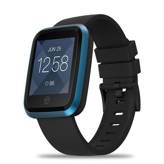 Crystal Smart Fitness Waterproof Smartwatch For Android IOS EvoFine Blue