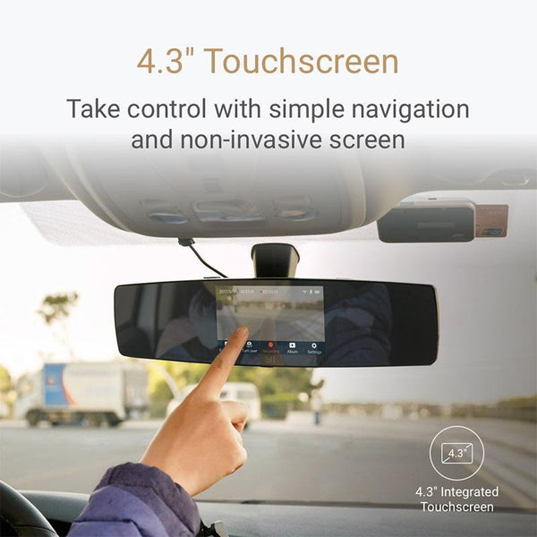 Dual Dashboard Touch Screen Dash Cam