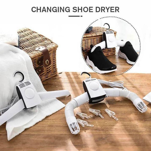 Electric Clothes Drying Rack - Portable Clothes Dryer