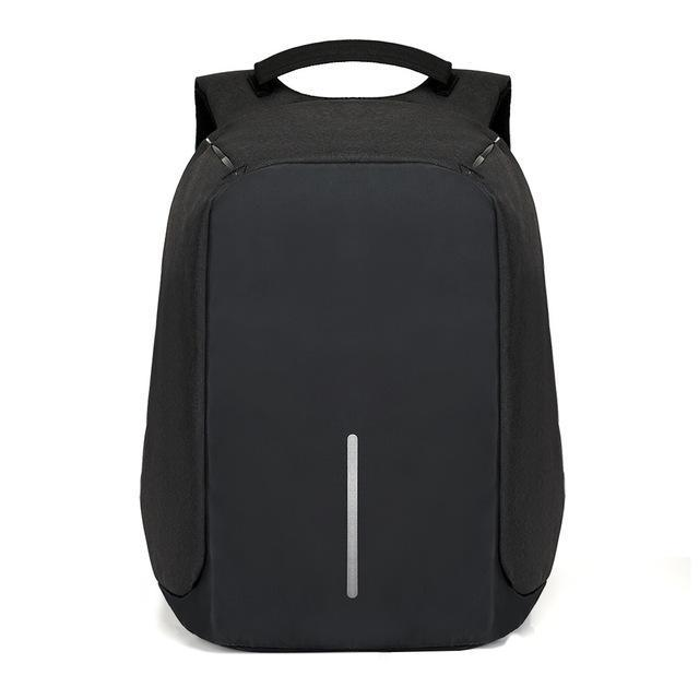 Exclusive Anti Theft Backpack -USB Charging Travel Friendly Evofine Black