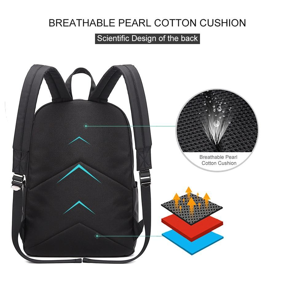 Exclusive Casual Backpack - USB Charging Waterproof Evofine