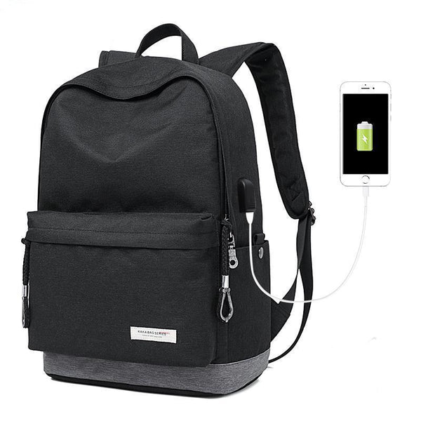 Exclusive Casual Backpack - USB Charging Waterproof