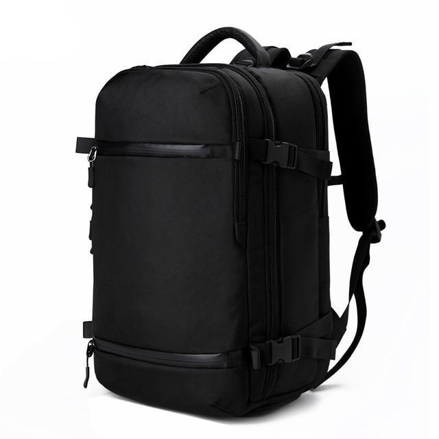 Exclusive Travel Backpack Large Capacity Evofine Black 17 Inches