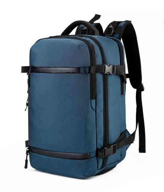 Exclusive Travel Backpack Large Capacity Evofine Blue 17 Inches