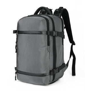 Exclusive Travel Backpack Large Capacity Evofine Grey 17 Inches