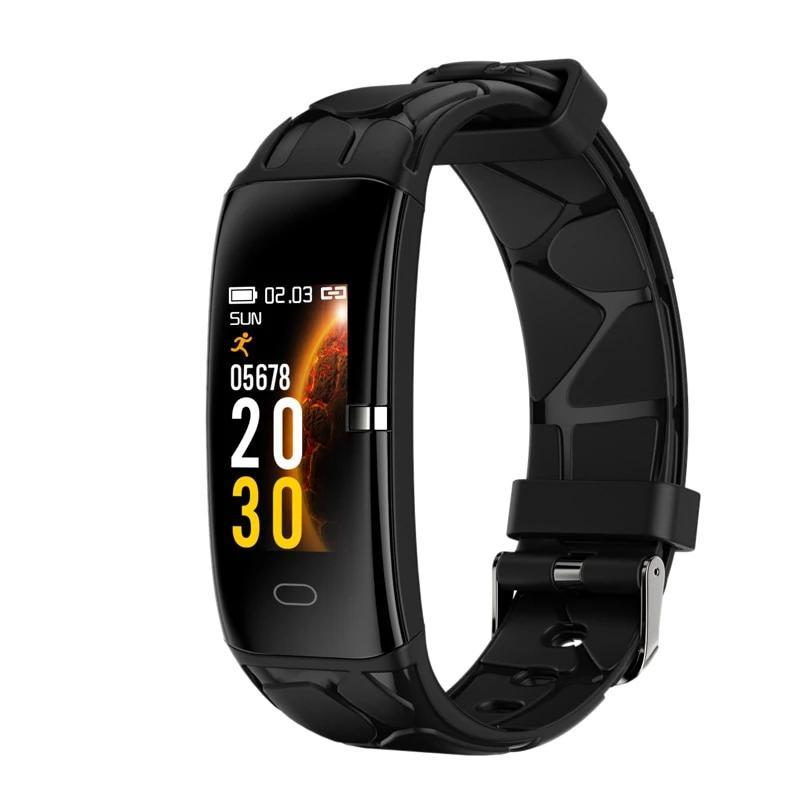 Fitness Tracker Smart Watch with Heart Rate Monitor Smartwatch EvoFine Black