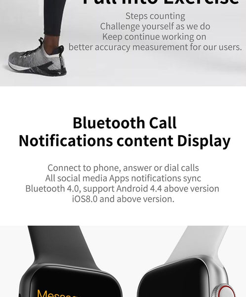 FixPro Bluetooth Smartwatch - iOS & Android