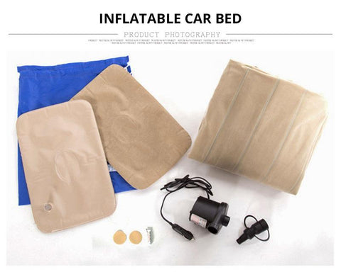 Inflatable Car Seat Mattress - Portable Outdoor Travel Sofa Evofine