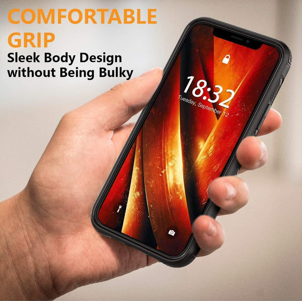 iPhone 11 Pro Max Case Built in Screen Protector 6.5inch