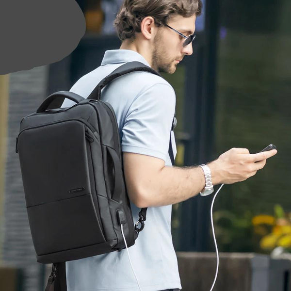 Large Capacity Travel Backpack - Anti thief Laptop Backpack With USB Port