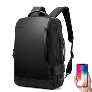 Leather Anti theft Luggage Backpack Evofine