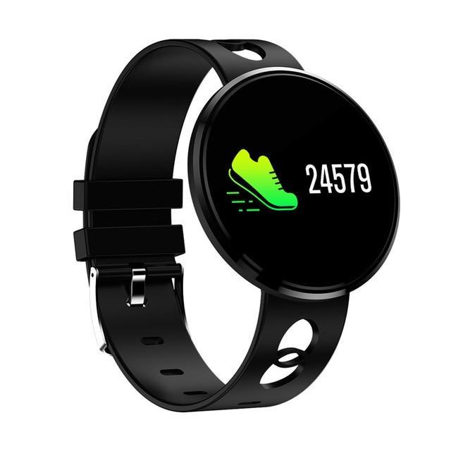 Lifestyle Fashion Smartwatch All in One Design for Everyone Evofine Rubber- Black Gel