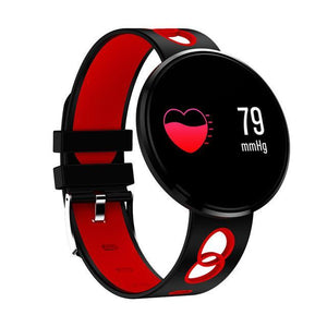 Lifestyle Fashion Smartwatch All in One Design for Everyone Evofine Rubber- Red/Black