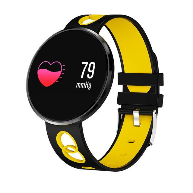 Lifestyle Fashion Smartwatch All in One Design for Everyone Evofine Rubber - Yellow/black