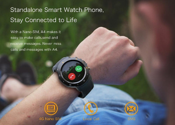 Matrix PRO SmartWatch WIFI GPS 4G- iOS/ANDROID