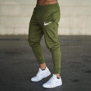 Men Joggers Casual Pant Evofine Army Green-1 XL