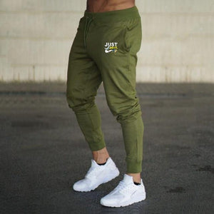 Men Joggers Casual Pant Evofine Army Green-4 XL