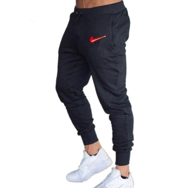 Men Joggers Casual Pant Evofine black-2 XL