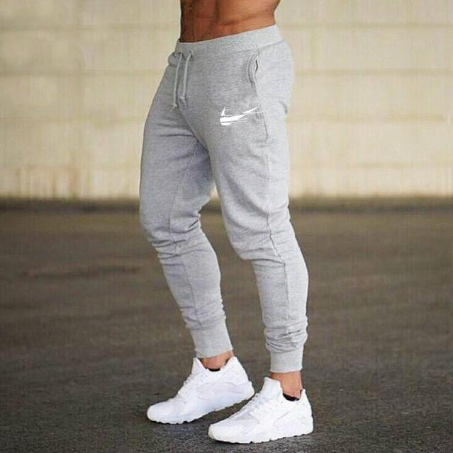Men Joggers Casual Pant Evofine gray-1 XL