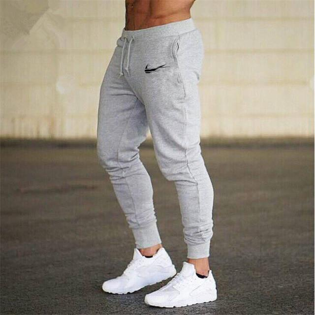 Men Joggers Casual Pant Evofine gray-3 XL