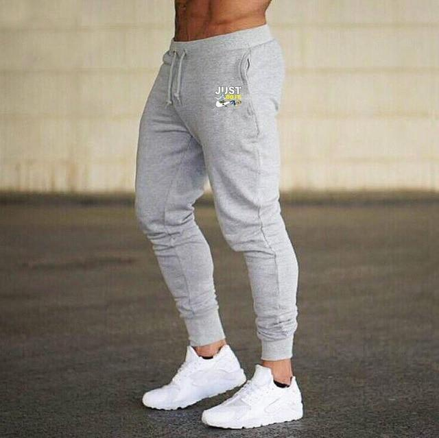 Men Joggers Casual Pant Evofine gray-4 XL