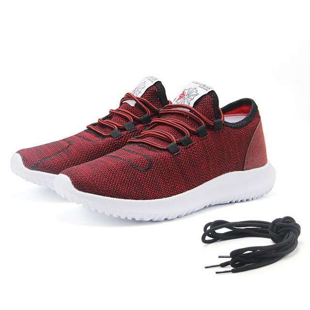Men's Casual Running Shoes - Perfect for daily Use Evofine Red 7