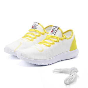 Men's Casual Running Shoes - Perfect for daily Use Evofine White 5