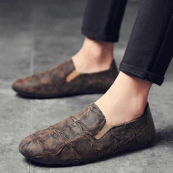 Mens Fashion Casual Shoes Slip-on Driving Style Loafer