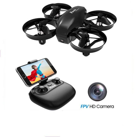 Mini Drone for Kids and Beginners with Camera, Easy to Fly Portable 720P RC FPV Drone Drone EvoFine
