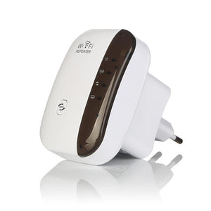 Mini WiFi Repeater - Pro Internet Signal Booster Evofine EU Plug Box-white